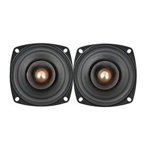 Image 5 - AIYIMA 2PCS 3Inch 15W Audio Fever Full range Speaker 4Ohm 8Ohm Full Range HIFI Treble Mediant Bass Loudspeaker DIY Speakers