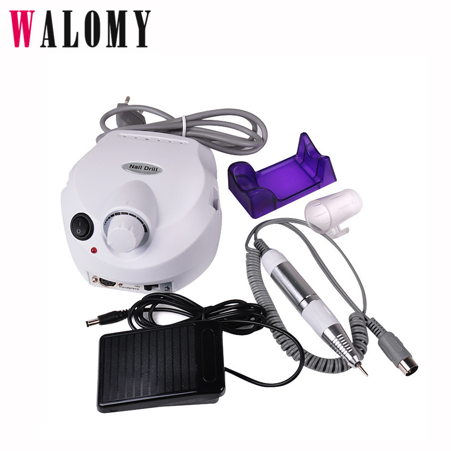 New Professional File Buffer Bits Machine Electric Nail Polishing Machine Pedicure Drill Nail Art Equipment Manicure Kit