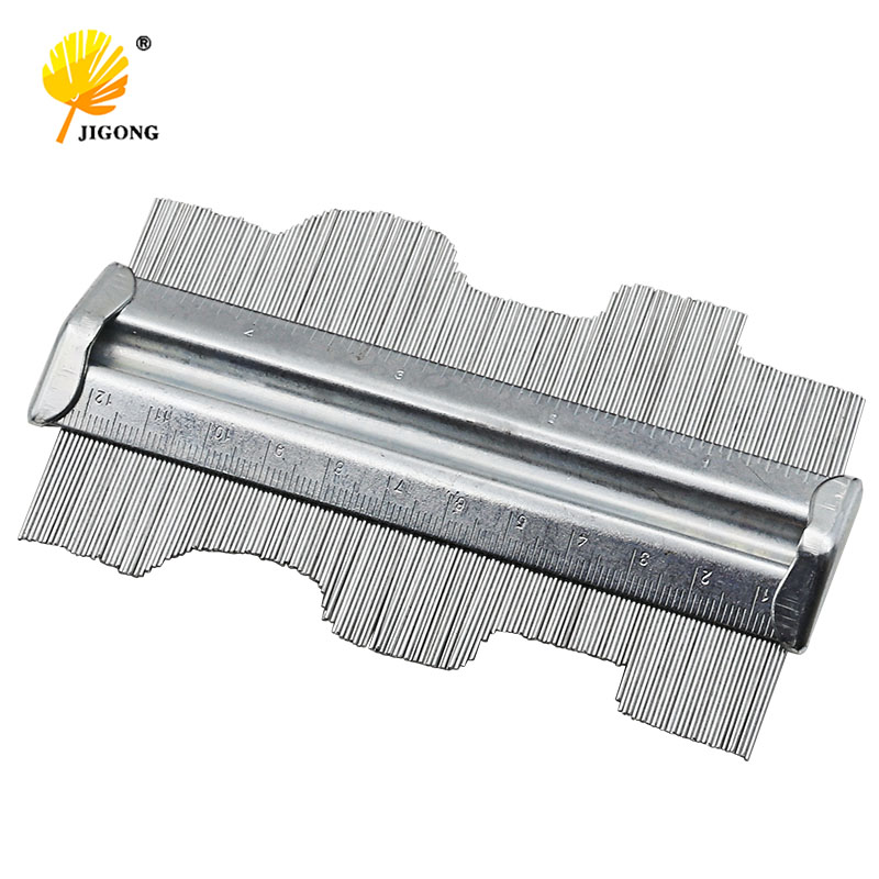 125mm 5inch Metal Professional Contour Profile Gauge Guage Tiling Laminate Tiles General Tools Contour Gauge Duplicator