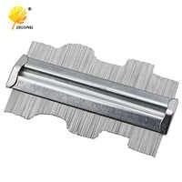 125mm 5inch Metal Professional Contour Profile Gauge Guage Tiling Laminate Tiles General Tools Contour Gauge Duplicator