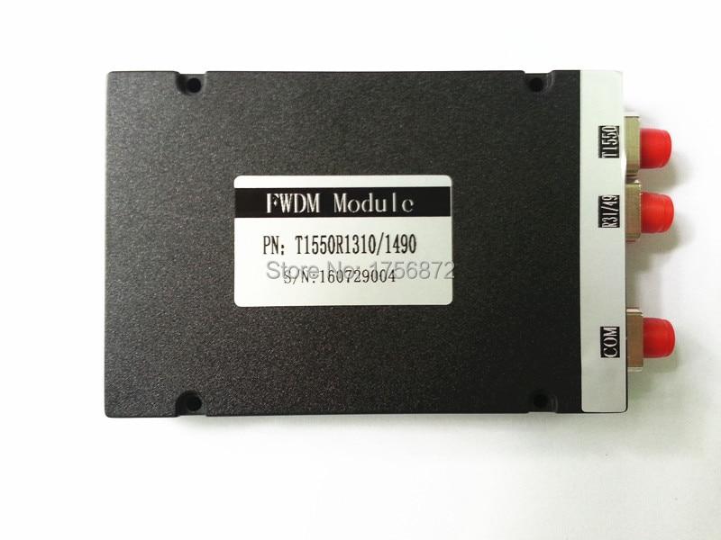 Moduł FWDM 1310nm / 1490nm / 1550nm Filtr WDM Fc / upc tx1550rx1310 - Sprzęt komunikacyjny - Zdjęcie 4