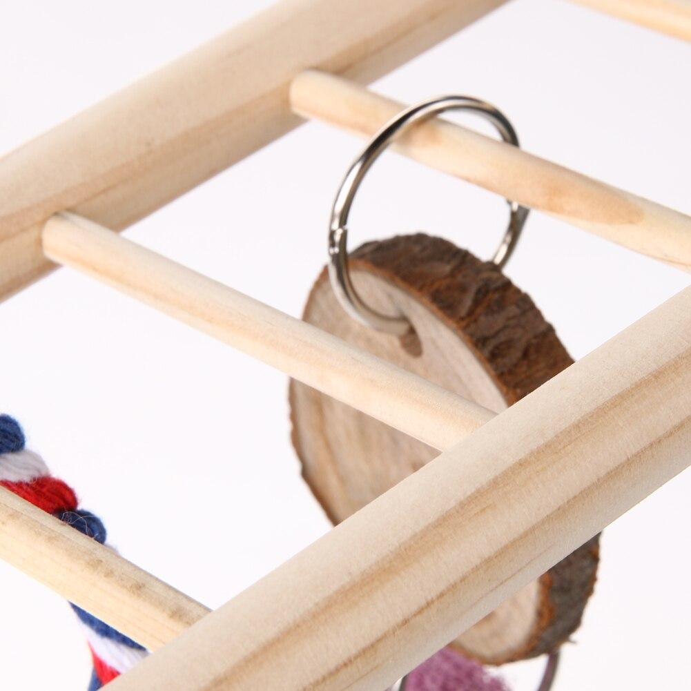 Holz Hängebrücke Leiter Schaukel Hängt Klettergerüst Spielzeug für ...