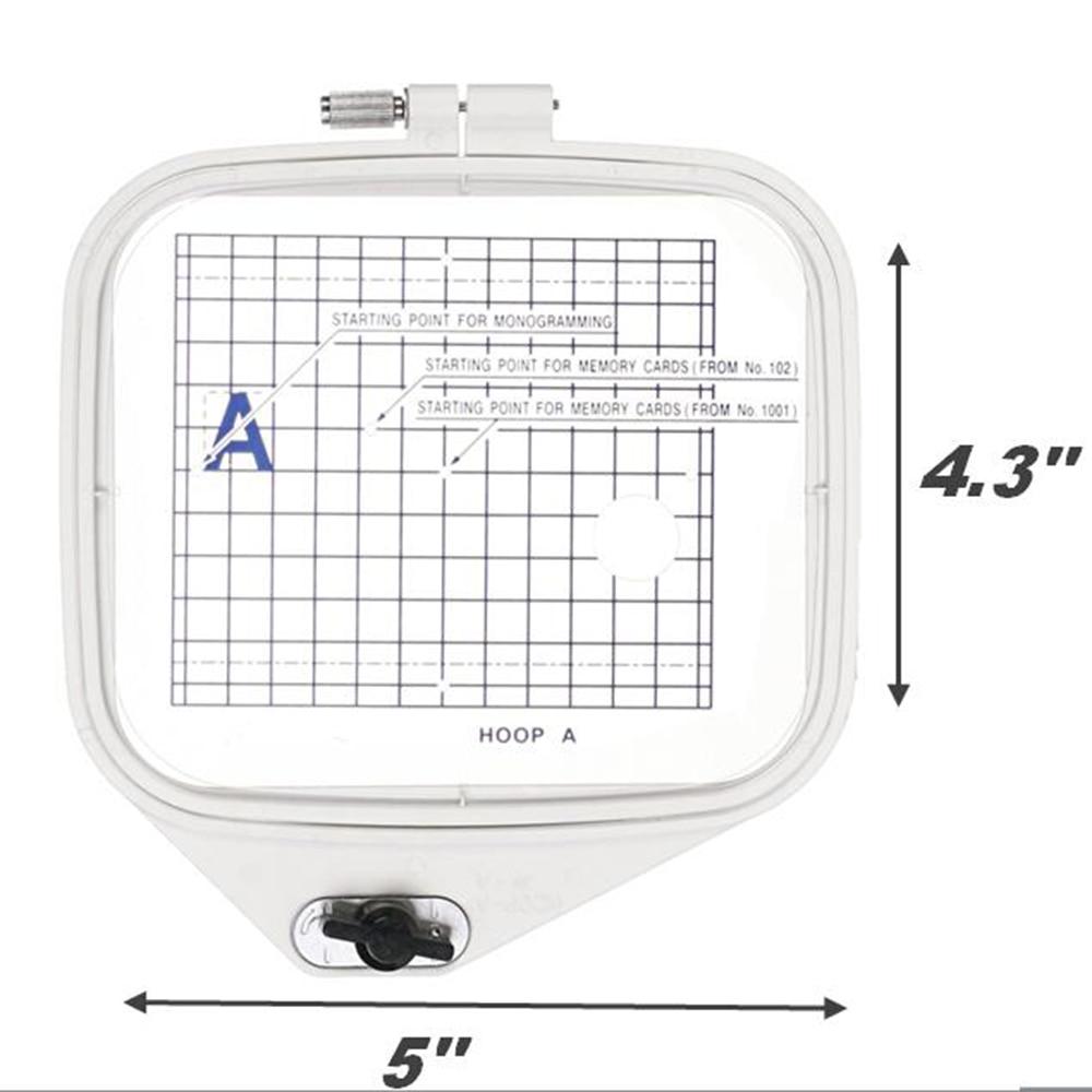 """Embroidery Hoop B 5.7/""""x 7.92/"""" Janome MC300E,MC350E,MC9500,MC9700,MC10000,MC10001"""