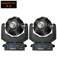 New Arrival 2PCS 12pcs*20W  RGBW Led Beam Football Moving Head Light/Led DJ Disco Ball Light/Stage Bar Limitless Moving Head