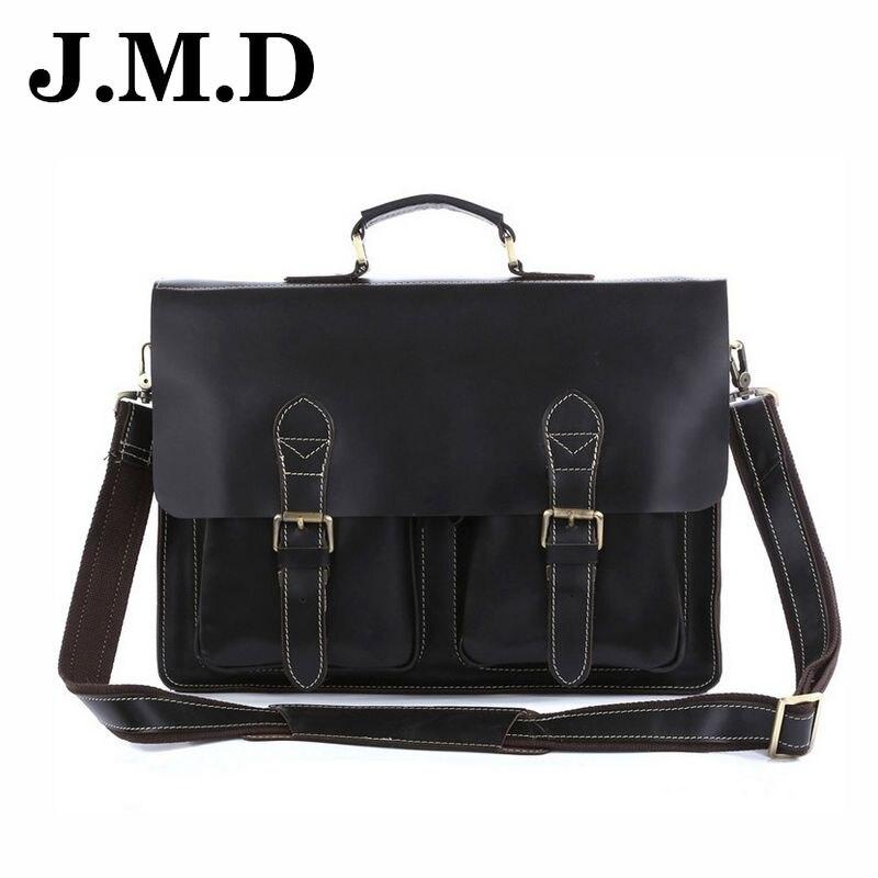 JMD 2017 New Brand Handbag 100% Genuine Leather Bag Messenger Bag Shoulder Men High Quality cowhide Leather CrossBody Bag JD010 pak greg astonishing x men