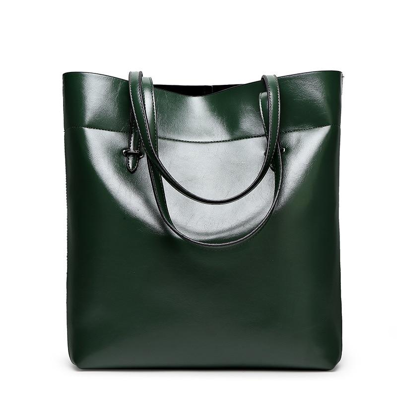 Aliexpress.com : Buy Cowhide Leather Tote Bags 2017 VEEVANV Women ...