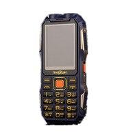 TKEXUN Q7 Phone With Power Bank High Capacity Analog TV Dual SIM Card Senior Flashlight Big
