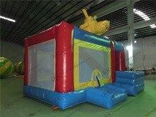 Dog Family Bouncy Castle Inflatable Bouncer Slide For Kids