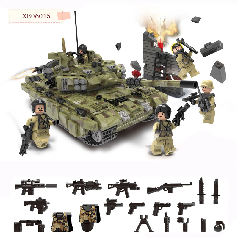 XINGBAO Genuine 06015 WW2 Compatible legoed Scorpio Fighter Tiger Tank Children s Building Blocks Model Educational
