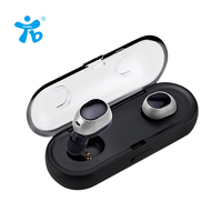 Two Earphones Headphone Bluetooth Wireless Earbuds Hands Free Mobile Phone Bluetooth Earphone Mini Wireless In Ear