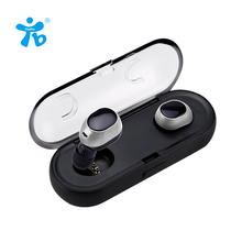Best price Two Earphones In-Ear Headphone Bluetooth Wireless Earbuds Hands Free Mobile Phone Bluetooth Earphone Mini Wireless Earpiece 4.2