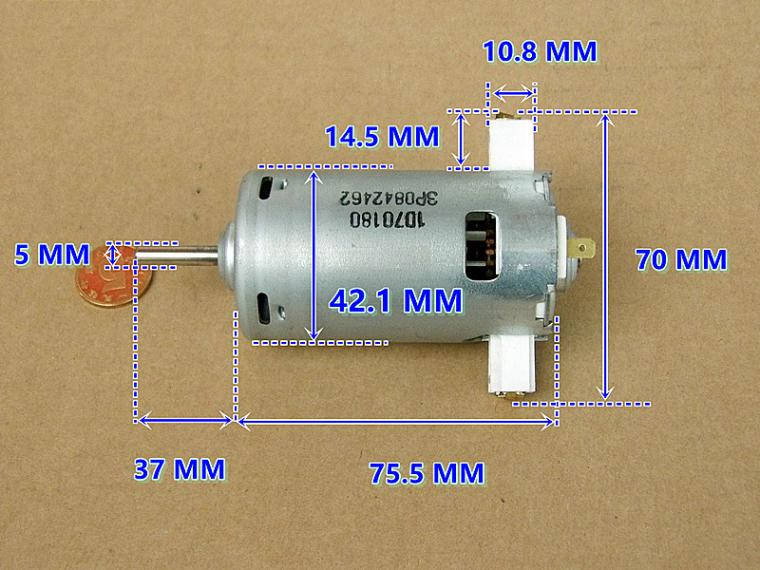 Diy Accessories Motor 60v 3000w 4600rpm Permanent Magnet Brushless Dc Motor Differential Speed Electric Vehicles Machine Tools