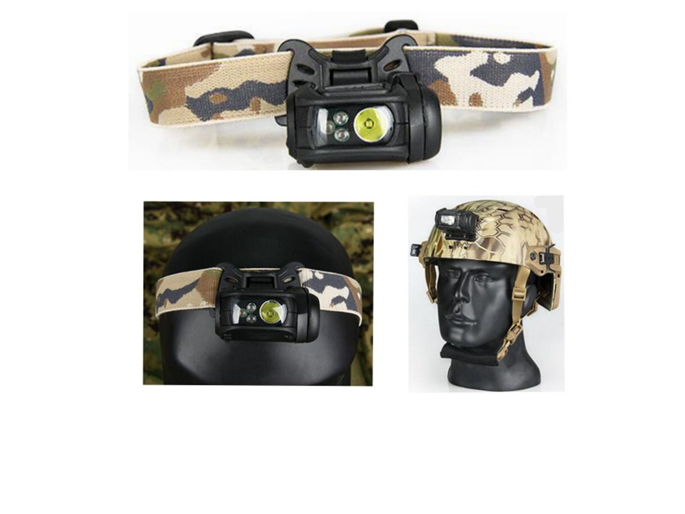 New Tactical Modular Personal Lighting System Head Light for Outdoor Hunting Helmet free shipping
