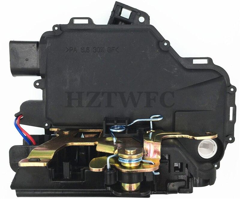 Free Shipping Front Left Driver Side Door Lock Actuator 3B1837015A For VW Passat B5 Golf Jetta MK4 Beetle