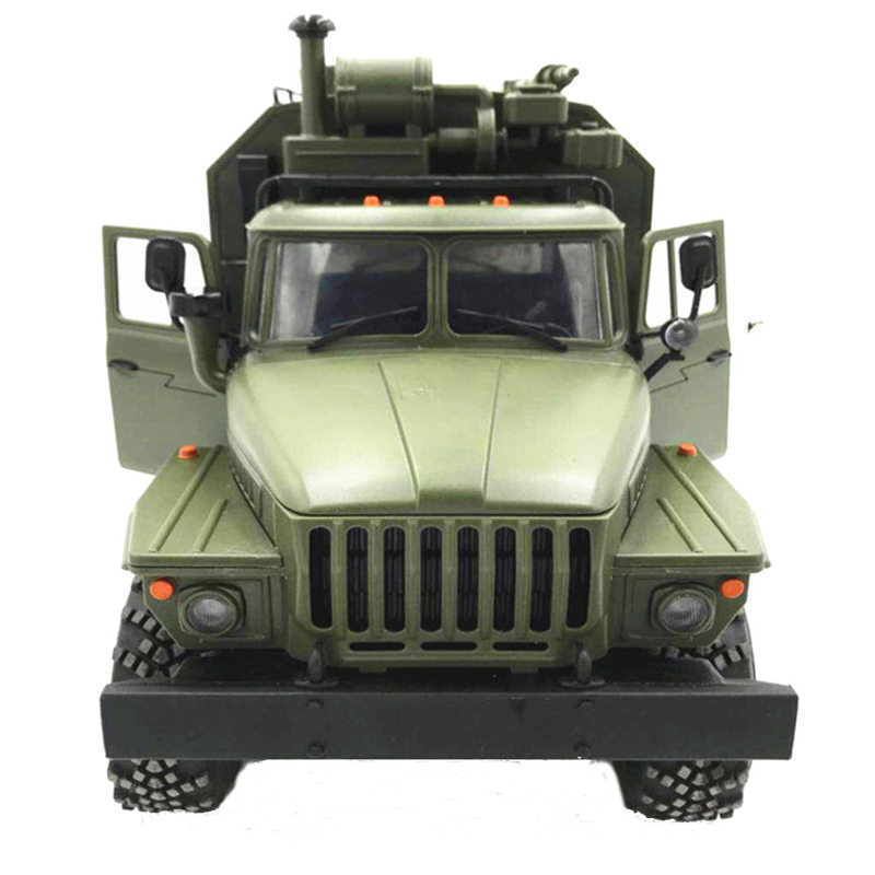 WPL B36 B-36 6WD Off-Road RC Military Truck WPL Upgrade RTR KIT 1:16 RC Car Buggy RC WPL Monster Truck 6 Wheel Assemble Crawler цена