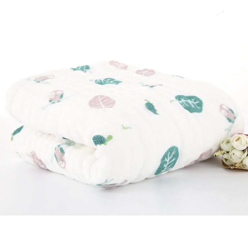 Mantas de muselina para bebés Envoltura de envoltura de algodón - Ropa de cama - foto 2