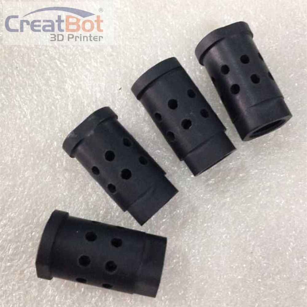 2 pieces peek 3d printer kit Creatbot 3D printer accessories / parts PEEK isolator holder for hot end