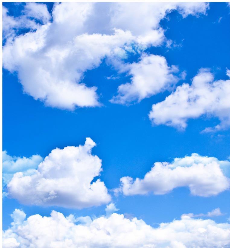 Personnalisé 3d papier peint mural HD ciel nuage plafond stéréoscopique papier peint 3d papier peint salon plafond - 2