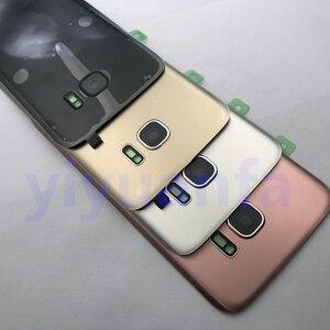 Image 5 - Original Zurück Glas Für Samsung Galaxy S7 G930 G930F S7 Rand G935 Batterie Zurück Abdeckung Tür Gehäuse Ersatz Reparatur Teile
