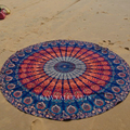 22 colors Summer scarves Women  Pashmina Geometric Mix color Chiffon beach Towels Round 150cm scaf