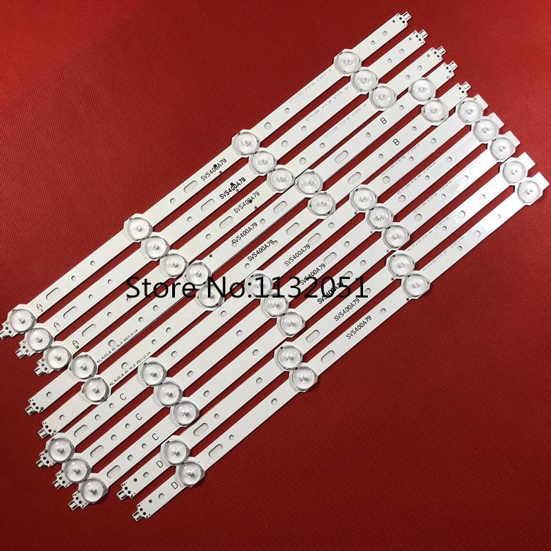 10 PCS Nueva tira de LED compatible con el trabajo de reemplazo para - Juegos y accesorios
