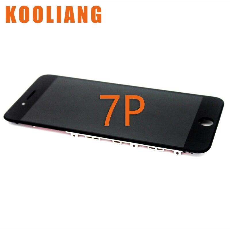 imágenes para 2 unids Ningún Pixel Muerto Reemplazo 5.5 LCD Para el iphone 7 Más Pantalla LCD Con Pantalla Táctil Digitalizador Asamblea