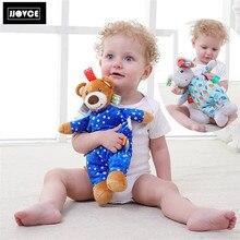 Gratis frakt JJOVCE nyfödda babyplypfyllda djur Babypusselleksaker för Chidren Sova leksaker Födelsedagspresent Heminredning