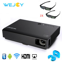 Wejoy 3D Mini Projector With 3D Glasses DL 310 HD 1080P TV Beamer Laser LED Home