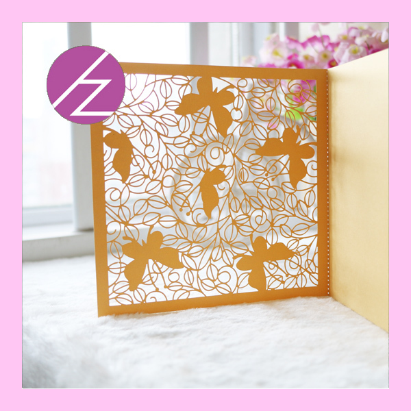 100pcs Lot Latest Design Laser Cut Paper Craft Pretty Butterfly