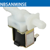 NBSANMINSE Washing Machines Solenoid Valve Pressure Valve DC12V Inlet Valve Drain Valve Connected 12mm Silicone Tube