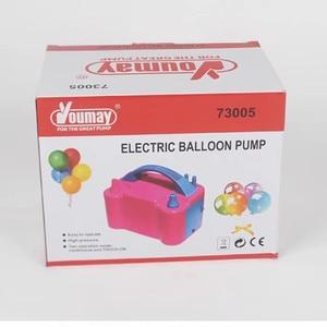 Image 5 - 220V lub 110V wysokiego napięcia podwójny otwór AC nadmuchiwany elektryczny balon dmuchany pompa elektryczny balon pompka inflatora przenośne powietrze dmuchawy