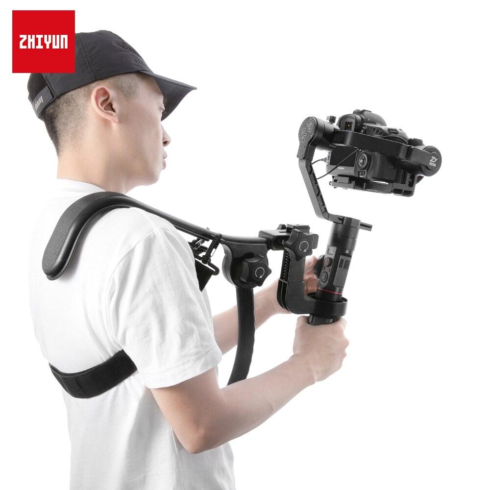 ZHIYUN Official Crane 2 Gimbal Accessories TransMount Shoulder Bracket Rig Handle Holder For Handheld Stabilizer Easy To Carry