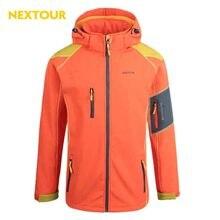 NEXTOUR outdoor Jacket Winter Men Softshell  Jacket  Waterproof coat Windproof   with fleece hunting Hiking trekking clothes