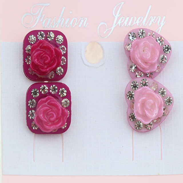 Earrings Fashion Por Children S Beauty Two Pairs Of Free Shipping