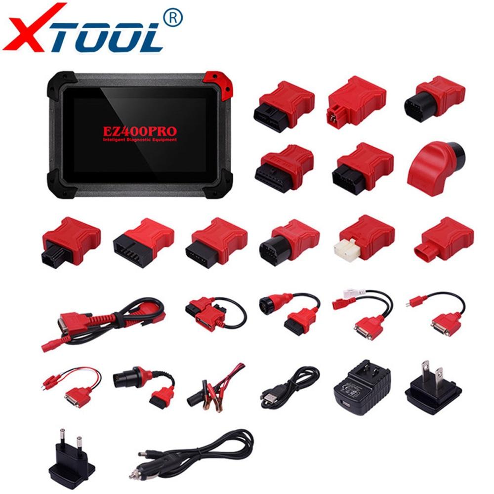 100% Original XTOOL EZ400 PRO Tablet Diagnose Werkzeug Unterstützung Schlüssel Programm, Kilometerzähler Einstellung und Airbag Reset Freies Update Online