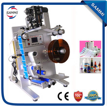 Hot Sale Vertical round bottle bottle labeling machine with date printer