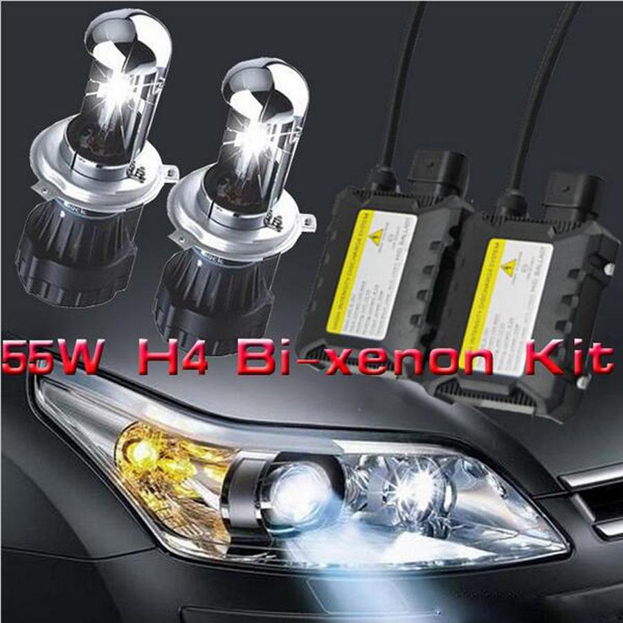 H4-3 H4 55w mașină kit de hidratare bixenon h4 ridicat H13 9004 - Faruri auto