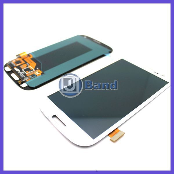 For Samsung Galaxy S3 III i9300 i747 T999 L710 i535 R530 LCD display Touch Screen Digitizer Black White Blue Free Shipping