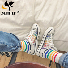 2019 Transparent Women Casual Shoes Fashion Flat Breathable Ladies Sho