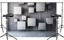 7x5ft Abstract Gray Three-dimensional Space Photography Background Kids Art Photo studio Backdrop photography Wall
