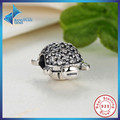 2016 New Fashion Fashion 925 Sterling Silver Sea Turtle Charm Fit Original  Bracelet Neckalce 100% Jewelry Gift