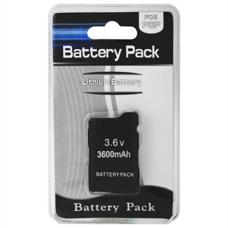 3600mAh 3.6V Rechargeable Battery Pack Replacement For Sony PSP1000/1001 Console Charger