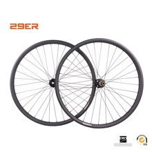 29er Mtb XC carbon mountain bicycle wheels 25x35mm 29er wheelset mtb wheels for XC version 32/32 holes, Novatec mtb hubs