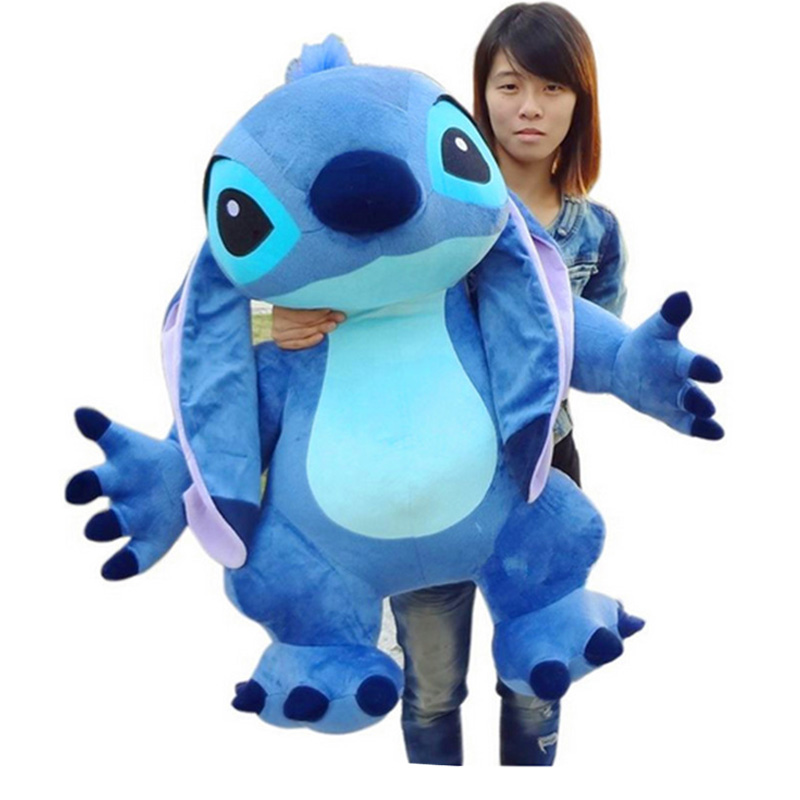 Fancytrader Real Pictures 35'' Jumbo Giant Stitch Plush Stuffed Soft Cute Toy 90cm, Nice Gift For Kids, Free Shipping fancytrader 32 82cm soft lovely jumbo giant plush stuffed anpanman toy great gift for kids free shipping ft50630 page 7