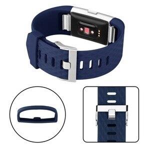 Image 4 - Correia de pulso para fitbit carga 2 banda relógio inteligente accessorie para fitbit carga 2 pulseira inteligente bandas substituição