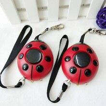 Hot sales women alarm Emergency torch light alarm portable Keychain alarm