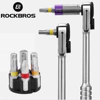 ROCKBROS Multifunction Bike Repair Tool Kits Torque Wrench For Bicycle Cycling Screwdriver MTB Road Bike Set