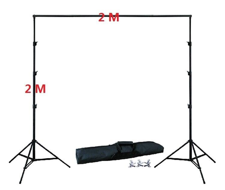 Фотостудия Фон Стенд Комплект 2 м высота 2 м ширина шт. 4 шт. зажимы шт. 1 шт. сумка для переноски Фон Стенд Комплект