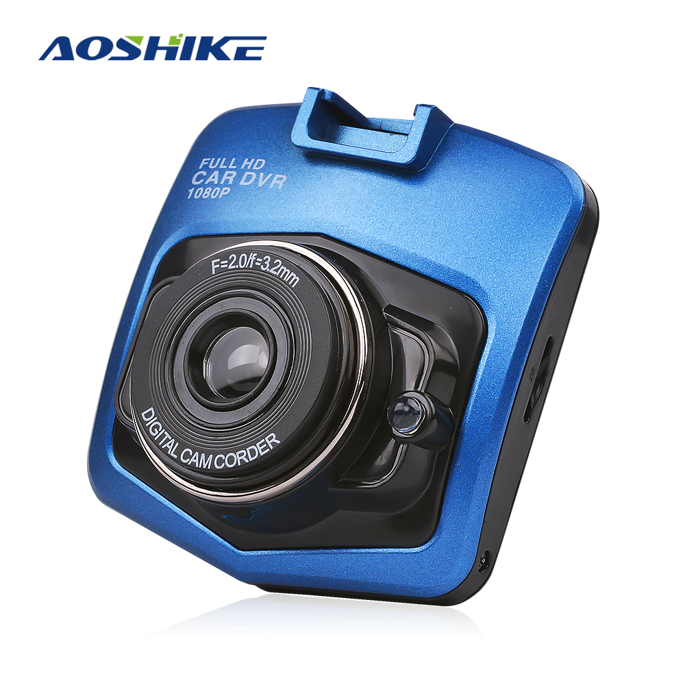 AOSHIKE New Original Mini Car Dashcam DVR  Camera SD 1080P Recorder Video Recorder G sensor Night Vision Trace Camera-in DVR/Dash Camera from Automobiles & Motorcycles