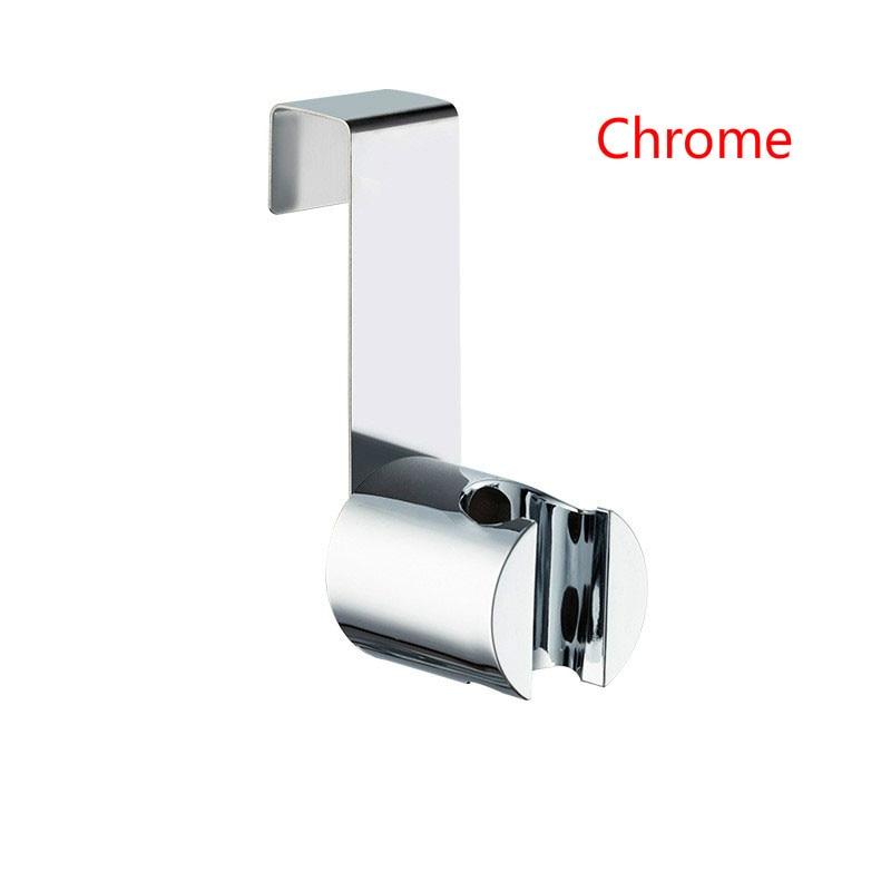 Stainless Steel Hand Shower Holder Hook Hanger Toilet Bidet Sprayer Handheld Shower Bracket Bathroom Accessories